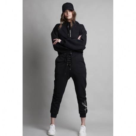 Jogger SPACE FLAMINGO Lace Up NEGRO