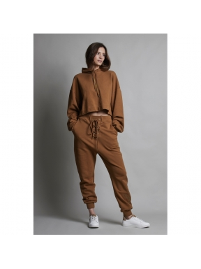 Jogger SPACE FLAMINGO Lace Up CAMEL