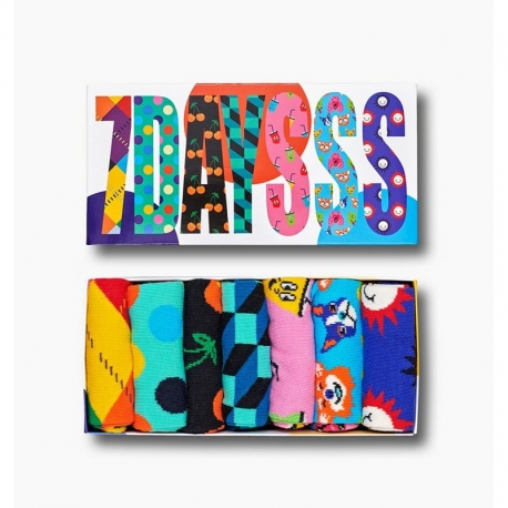 HAPPY SOCKS Pack 7 Days Gift Box 41/46
