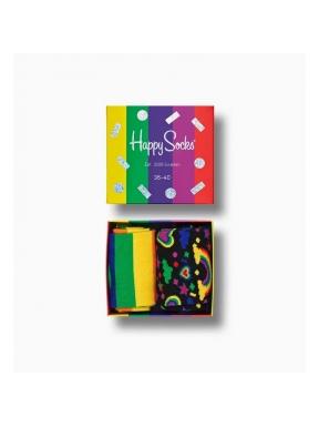 HAPPY SOCKS 2 Pack Pride Socks 36/40