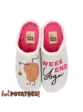 Zapatilla HOT POTATOES Weekend Yoga GRIS