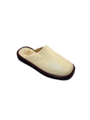 Zapatillas GAME 16001 Chinela Piel BEIGE