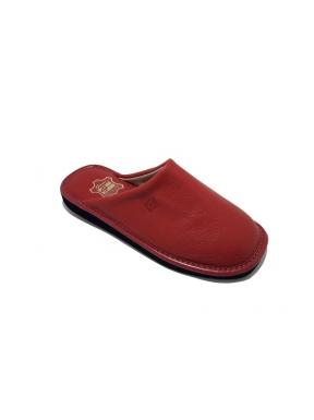 Zapatillas GAME 16001 Chinela Piel ROJO