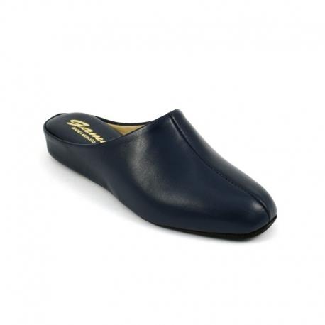 Zapatillas GAME 700 Chinela Piel MARINO