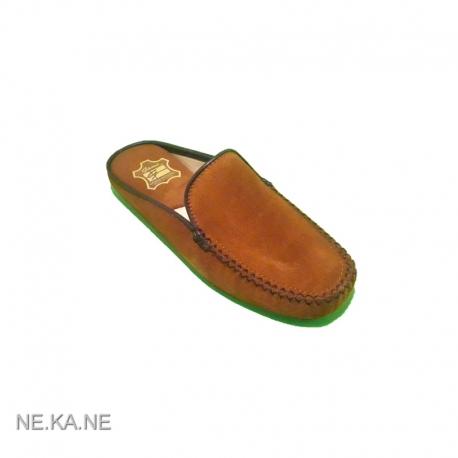 Zapatillas GAME 30001 Chinela Ante CUERO