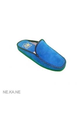 Zapatillas GAME 30001 Chinela Ante AZUL