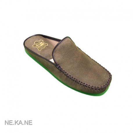 Zapatillas GAME 30001 Chinela Ante KAKI