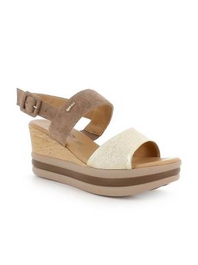 Sandalia Plataforma IGI&CO Combi TAUPE