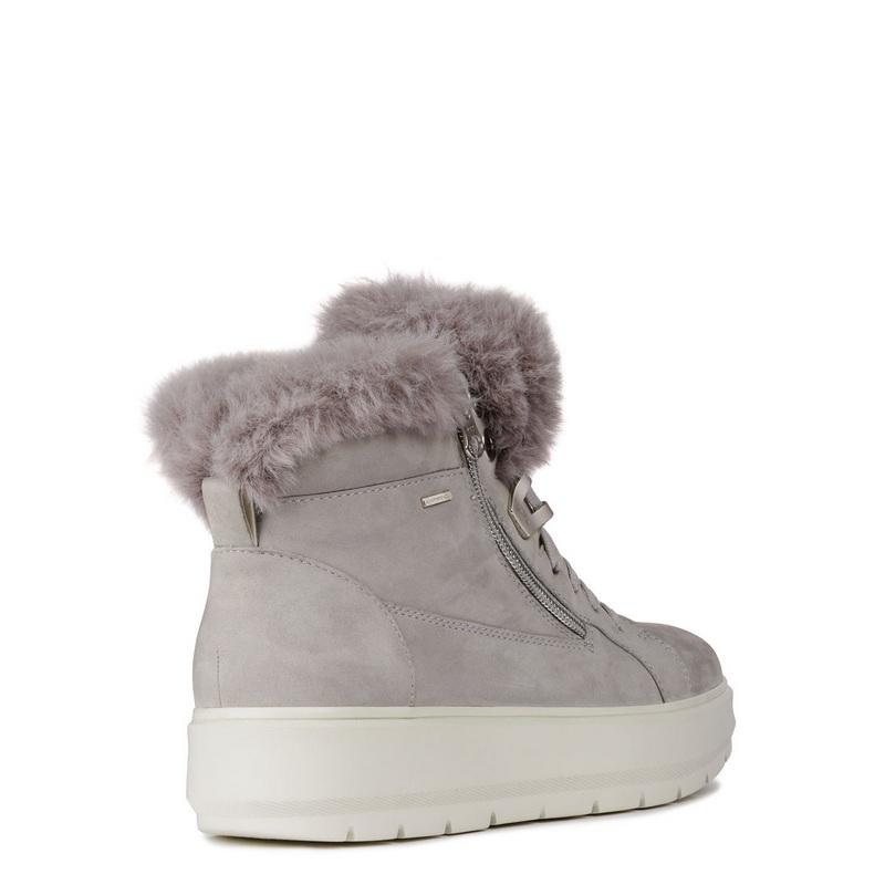 Kaula Gris Calzados Abx Sneaker Nekane Geox Abotinado 6wgpT