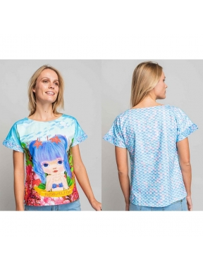 Camiseta ROSALITA MCGEE Merriman MULTI