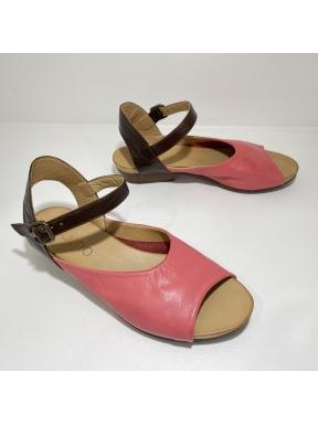 Sandalia Merceditas BUENO Bicolor ROSA
