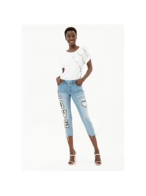 Jeans FRACOMINA Cara Boyfriend Parches