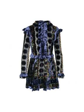 Vestido HIGHLY PREPPY Velvet Rongean