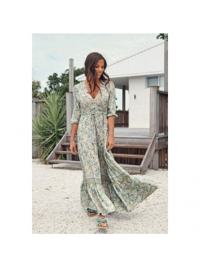 Vestido Largo JAASE Tessa Beachley MULTI