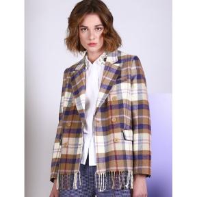 Blazer Tiffany VILAGALLO Cuadros SCOTT