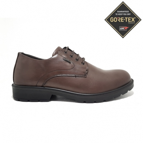 BLUCHER GORETEX PIEL LISA MARRON