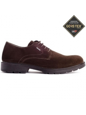 BLUCHER GORETEX ANTE LISO MARRON