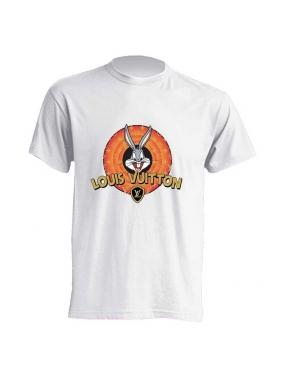 Camiseta FUCK YOUR FAKE BugsBunny BLANCA