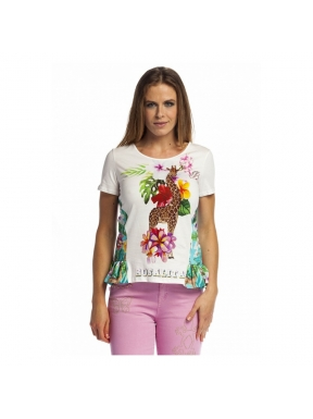 Camiseta ROSALITA Elvira MULTICOLOR