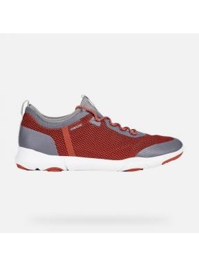 Sneaker GEOX Nebula X ROJO y GRIS