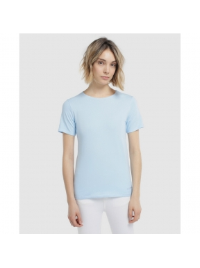 Camiseta ESCORPION Básica CELESTE
