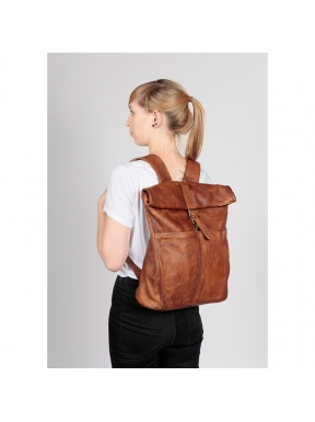 Mochila FREAKY NATION Skip School COGNAC