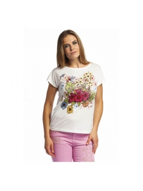 Camiseta ROSALITA Fantasía Estela BLANCO
