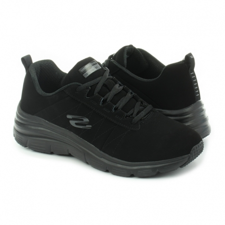 Deportivas SKECHERS Fashion Fit NEGRO