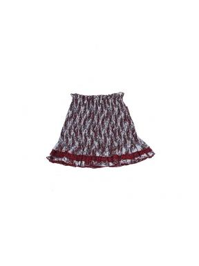 Falda Mini GUTS&LOVE Ruffle BLANCO