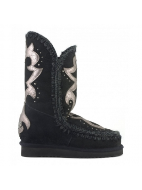 MOU Inner Wedge Tall Texan Patch BLACK