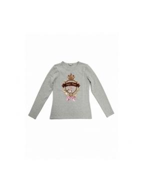 Camiseta HPREPPY Escudo Princess GRIS