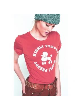 Camiseta HPREPPY Poodle ROSA