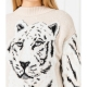 Minivestido TWINSET Jacquard Tigre BEIGE