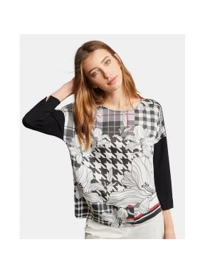 Camiseta ESCORPION Bimaterial NEGRO
