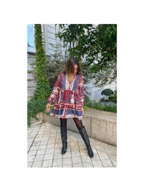 Vestido Corto JAASE Samba Aaliyah MULTI