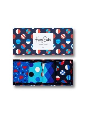 HAPPY SOCKS Navy Gift Box 41/46