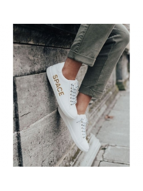 Sneaker SPACE FLAMINGO Oro BLANCA
