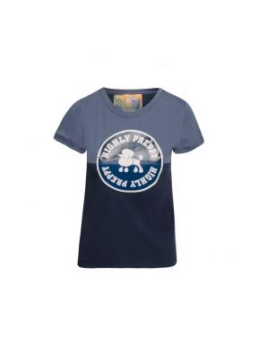 Camiseta HPREPPY Círculo Poodle MARINO
