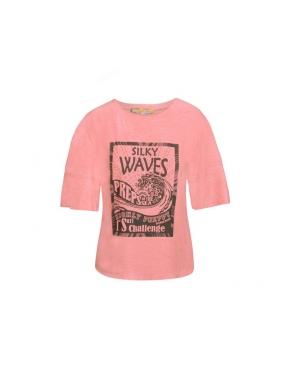 Camiseta HPREPPY Volantes ROSA