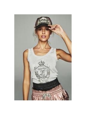 Camiseta HPREPPY Lurex PLATA