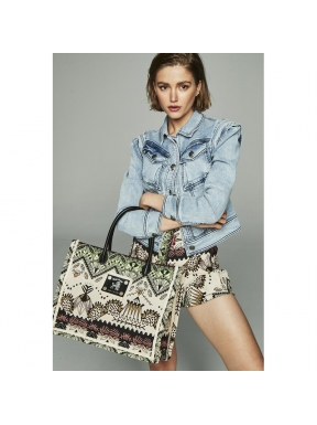 Shopping Bag HPREPPY Tapicería Con Piel
