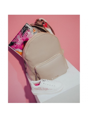Mochila SPACE FLAMINGO Essential BEIGE
