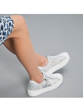 Sneakers NERO GIARDINI Metal PLATA