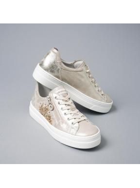 Sneakers NERO GIARDINI Metal CHAMPAGNE
