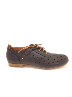 Zapato Cordones BUENO Perforado MARINO