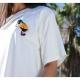 Camiseta SILVIA GODINO Tucán CRUDO