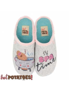 Zapatilla HOT POTATOES Spa Time GRIS