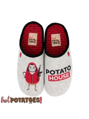 Zapatilla HOT POTATOES CasaDePapel GRIS
