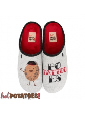 Zapatilla HOT POTATOES Tattoo GRIS